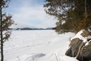 10- Randonnée d'une journée en raquette  : Tronçon la Grande Baie
